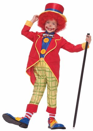 Toddler Boys Little Clown Costume