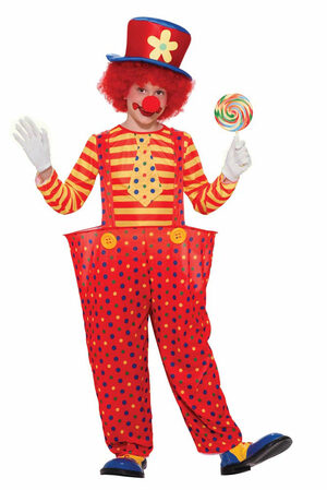 Kids Hoopy the Clown Circus Costume
