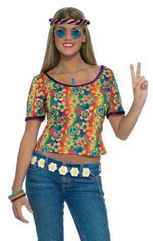 Womens Sexy Hippie Shirt