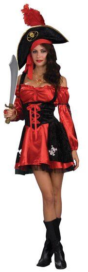 Racy Pirate Lady Sexy Costume