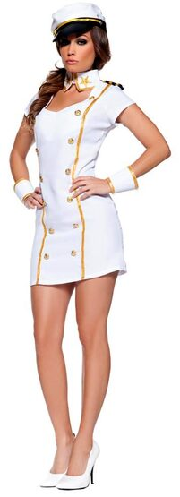 Admiral Sexy Sailor Costume