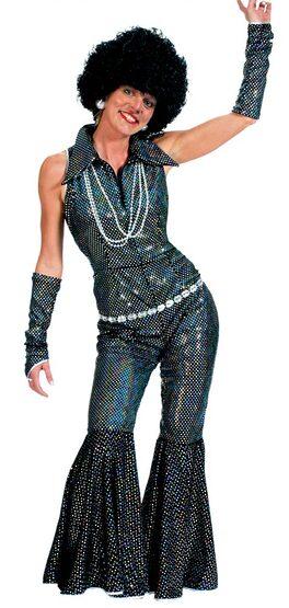 Womens Boogie Queen 70s Disco Costume