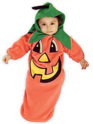 Pumpkin Newborn Bunting Costume
