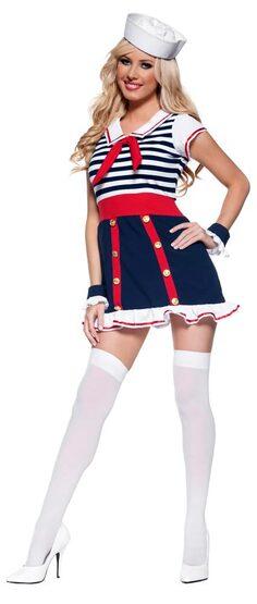 Good Ship Sexy Sailor Girl Costume