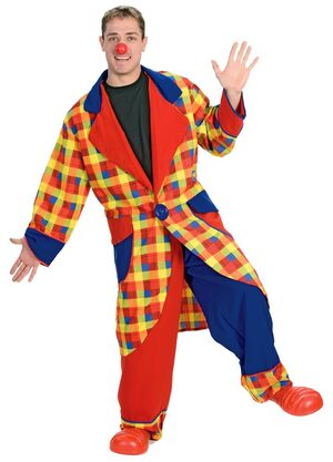 Adult Clubbers the Clown Costume