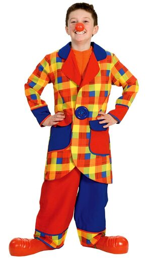 Child Clubbers the Clown Costume