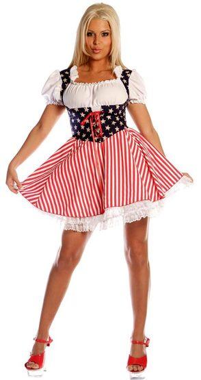 Stars N Stripes Sexy Patriotic Costume