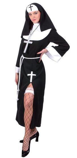 Sassy Sister Adult Nun Costume