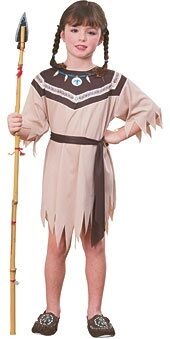 Kids Native American Indian Princess Costume