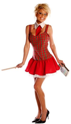 Teachers Pet Sexy School Girl Costume