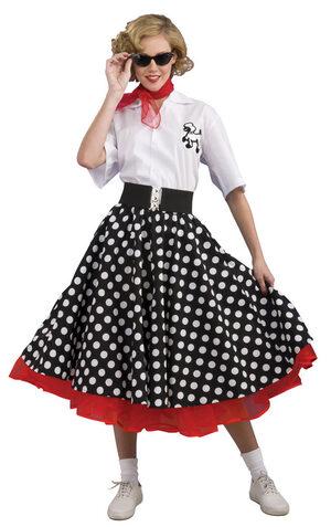 Grand Heritage Womens Polka Dot 50s Costume