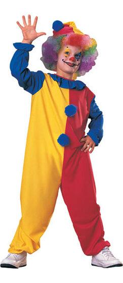 Clown Deluxe Kids Costume