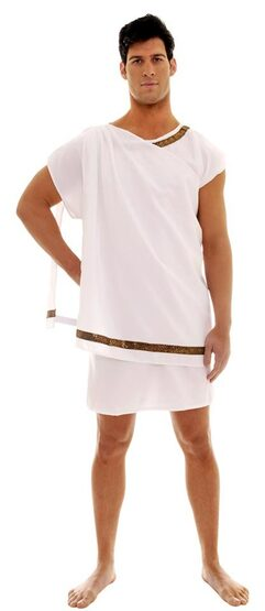 Mens Greek Toga Costume