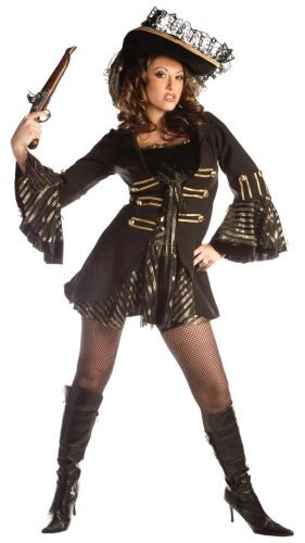 Black Pearl Womens Sexy Pirate Costume