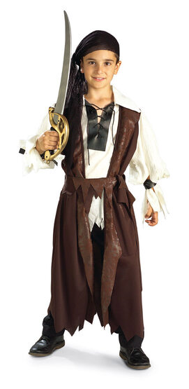 Kids Caribbean Pirate Costume