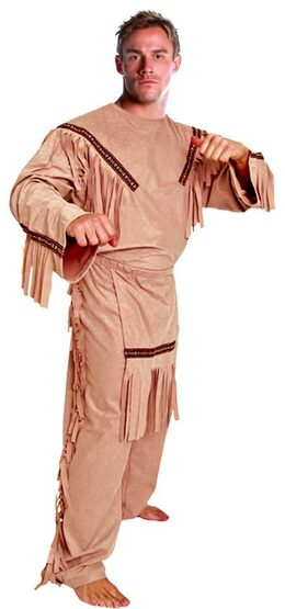 Adult American Indian Brave Costume