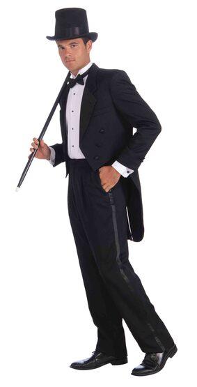 Mens 50s Vintage Hollywood Tuxedo Adult Costume