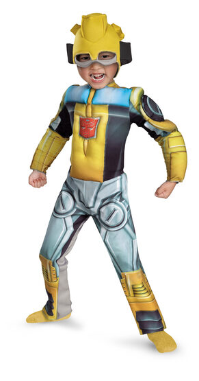 Transformers Bumblebee Muscle Chest Kids Costume