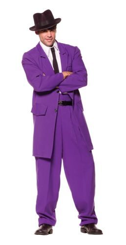Adult Purple Zoot Suit Costume