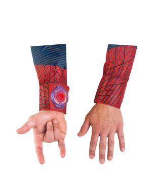 Deluxe Amazing Spiderman Light Up Web Shooter