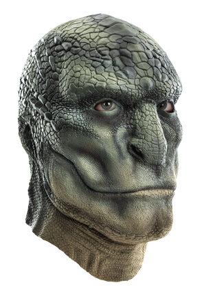 Deluxe Spiderman Lizard Latex Mask