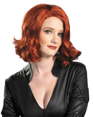 Adult Black Widow Wig