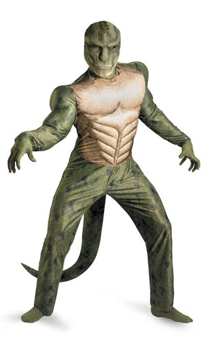 Spiderman Lizard Muscle Chest Adult Costume