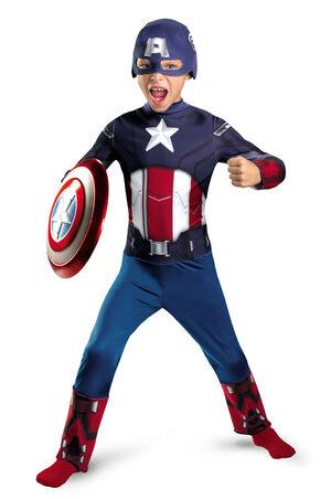Boys Captain America Avengers Kids Costume