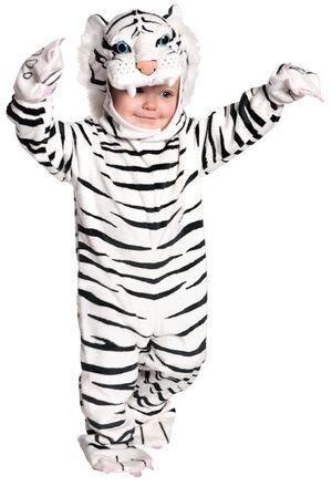 Toddler White Tiger Kids Costume