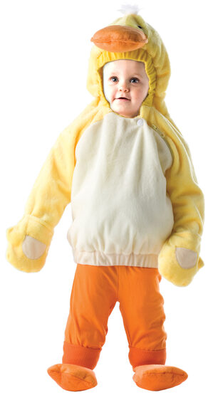 Little Yellow Duck Kids Costume