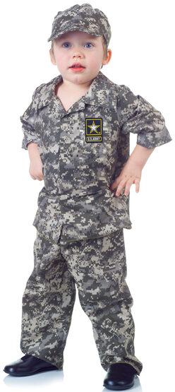 Toddler US Army Camo Set Kids Costume