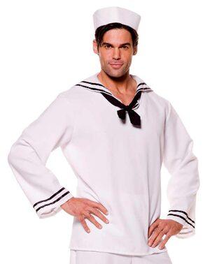 Mens White Sailor Costume