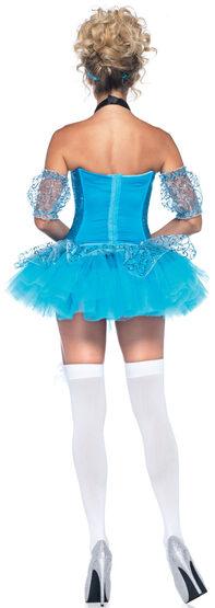 Sexy Glass Slipper Princess Cinderella Costume