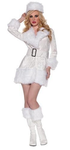 Womens White Russian Sexy Costume