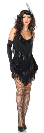 Sexy Roaring 20s Flapper Honey Costume