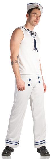 Mens Navy Sailor Adult Costume