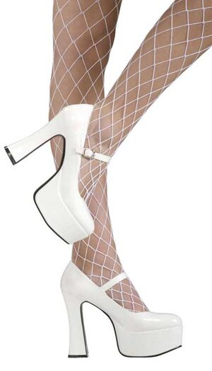 Womens Sexy White Mary Jane Shoes