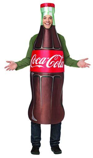 Coca Cola Bottle Funny Adult Costume
