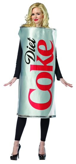 Diet Coke Can Funny Adult Costume