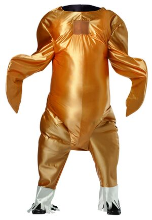 Gobbler Giant Turkey Food Funny Adult Costume