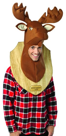 Loose Moose Trophy Funny Adult Costume