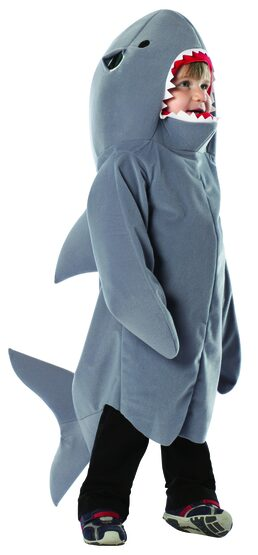 Funny Toddler Toothy Shark Baby Costume