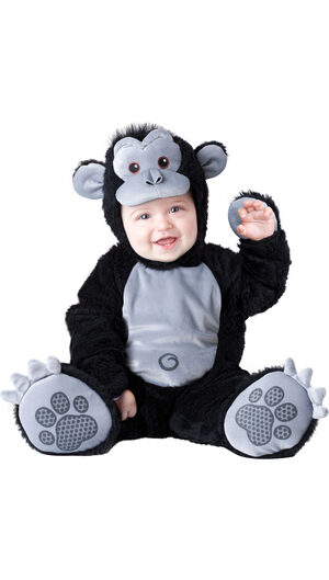 Infant Goofy Gorilla Baby Costume