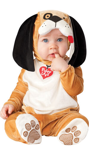 Infant Puppy Love Baby Costume