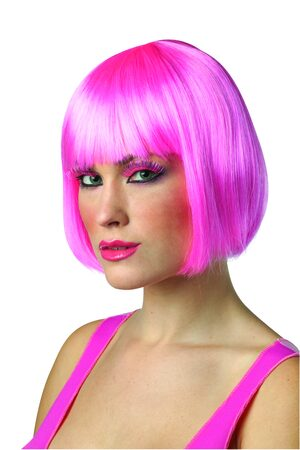 Pink Crayola Bob Wig