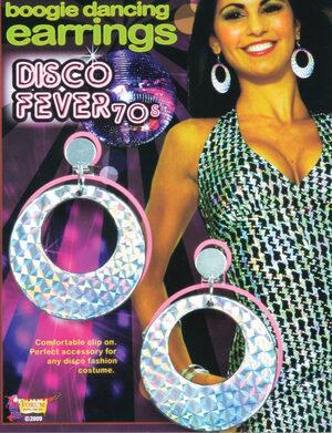 70s Boogie Disco Earrings