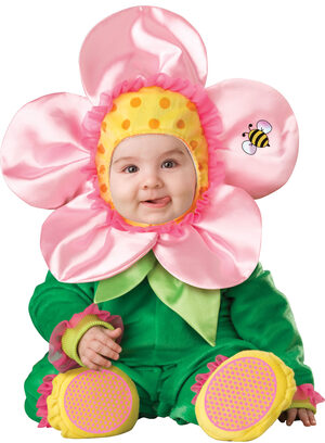 Little Pink Blossom Baby Costume