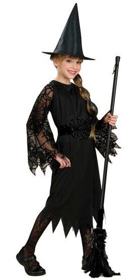 Spider Witch Kids Costume