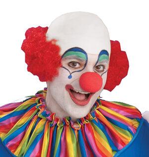 Bald Clown Head Wig