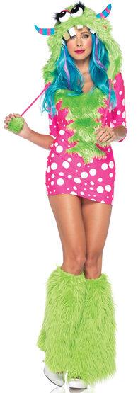 Sexy Polkadot Melody Monster Costume
